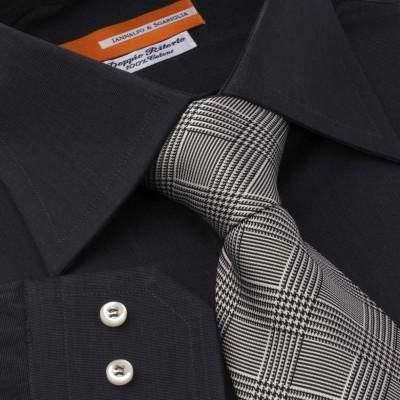 Koszula czarna Nero M12 N° 38/85 Slim-fit