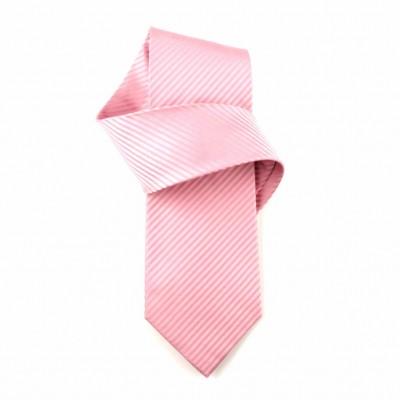 Jedwabny krawat różowy Nº6