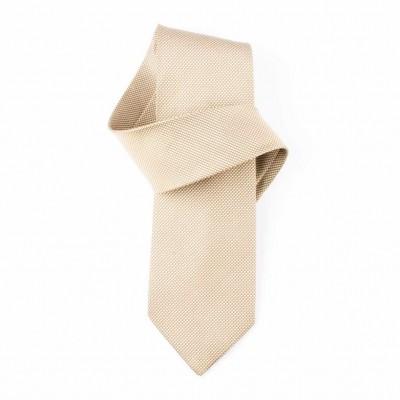 Jedwabny krawat żółty Nº31