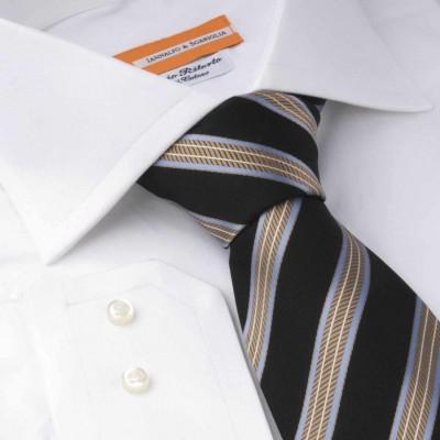 Koszula biała Poplin Bianco M21 N°700 Slim-fit