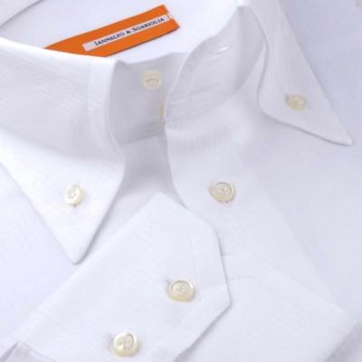 Koszula biała Rigato Bianco M07 N° 21 Slim-fit