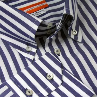 Koszula niebieska Fantasia M07 N° 231/3 Slim-fit