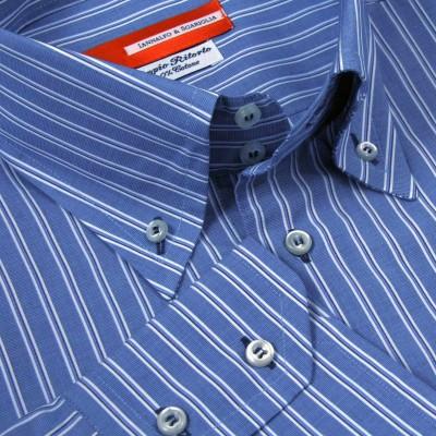 Koszula niebieska Fantasia Dalia M07 N° 2909/4 Slim-fit