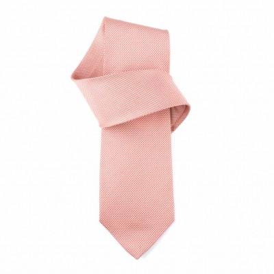 Jedwabny krawat jasnoczerwony Nº8