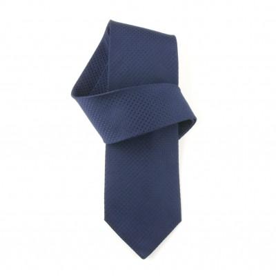 Jedwabny krawat niebieski Nº9