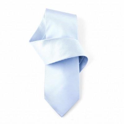 Jedwabny krawat niebieski Nº11